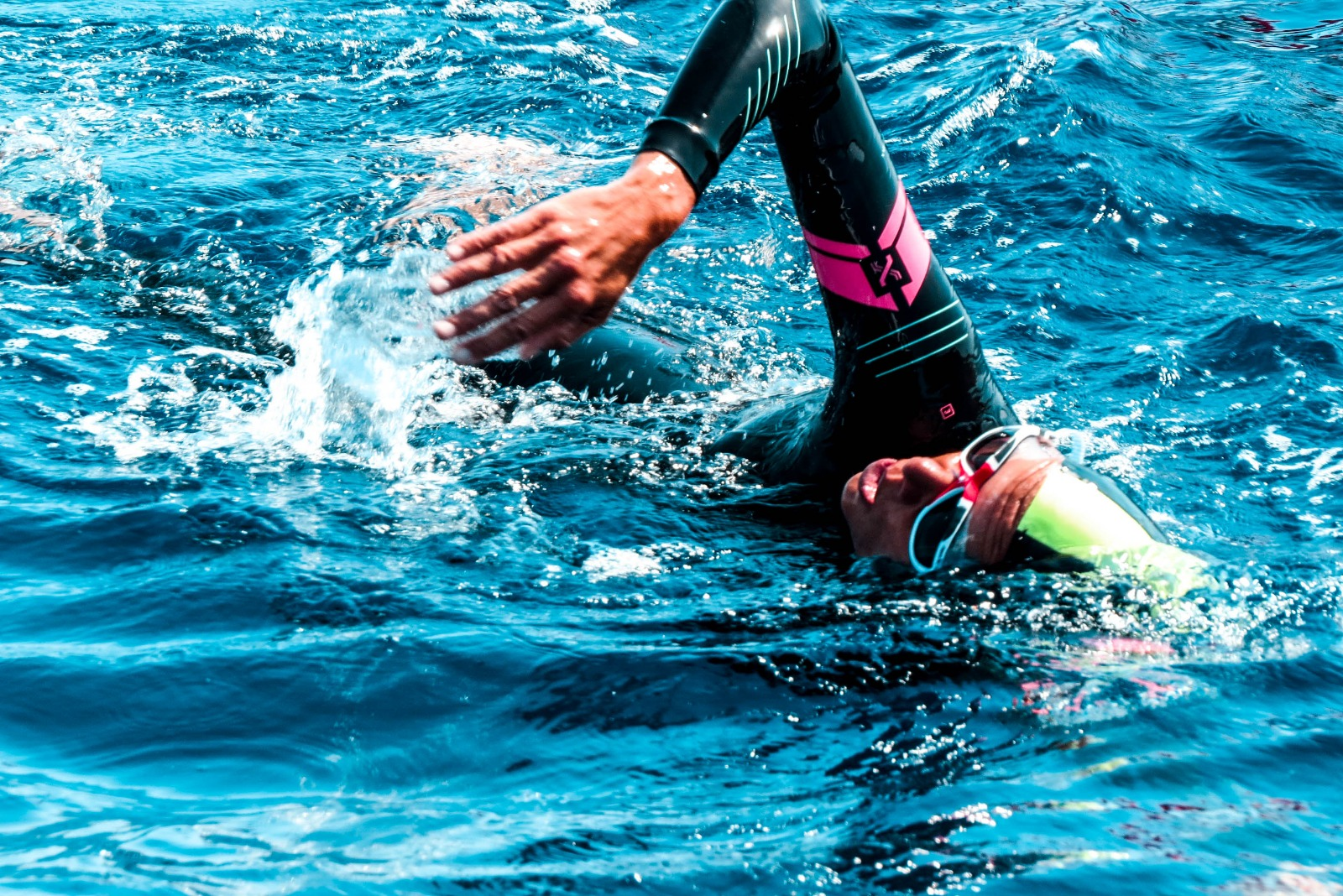 Photos from the challenge - Viški channel swimming