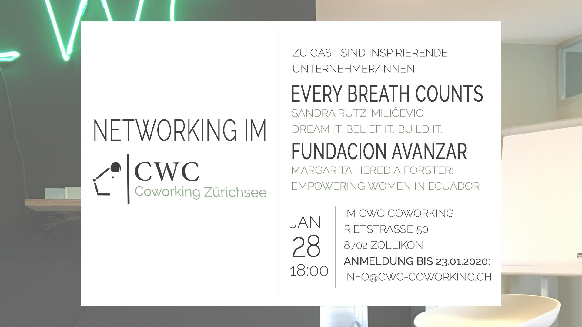Networking im CWC-Coworking Zurichsee